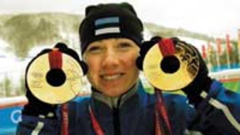 Kullatüdruk Kristina Šmigun: «Mul on uus unistus – kuld Vancouverist.»