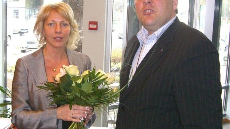 Vilja Savisaar sai Eesti Võrkpalli Liidu presidendiks