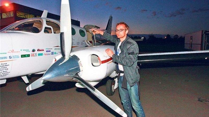 Keith Siilats lennutas ratastooliinimesi Tallinna kohal
