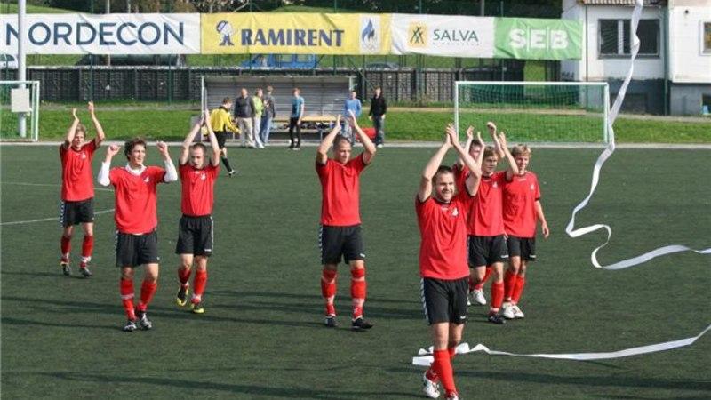 Jalka valis aasta meeskonnaks võitmatud Viljandi amatöörid
