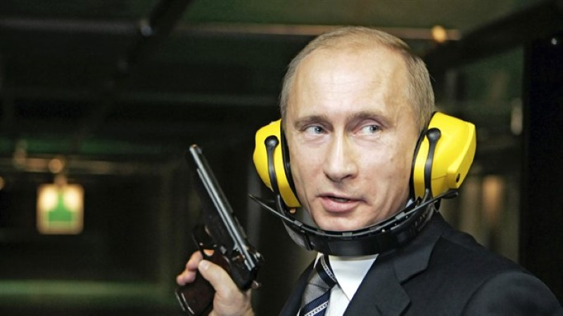 Vladimir Putin sai sõdade alustamise eest rahupreemia