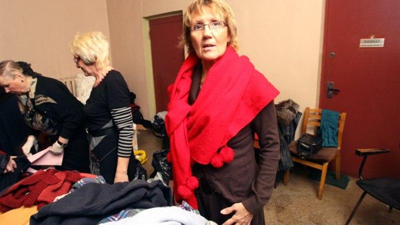 GALERII: kodutud said saunas käia ning Olde Hansa lihasuppi mekkida