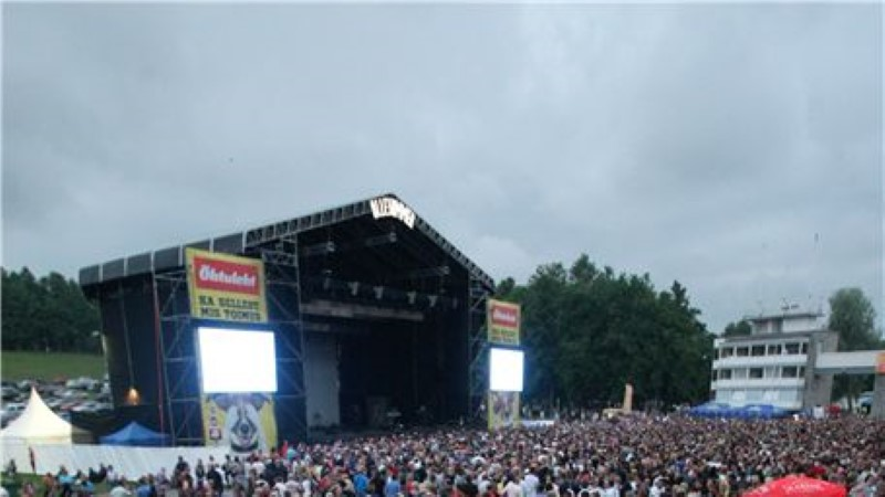 Pet Shop Boys täitis laululava pilgeni