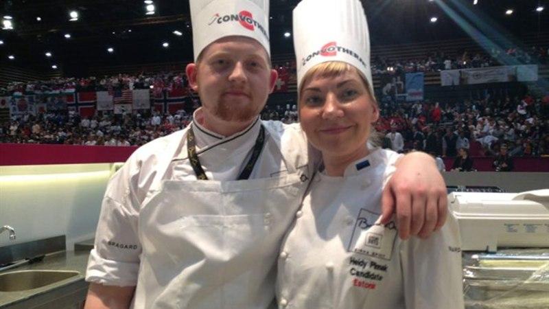 Eesti tuli kokkade olümpial 14. kohale
