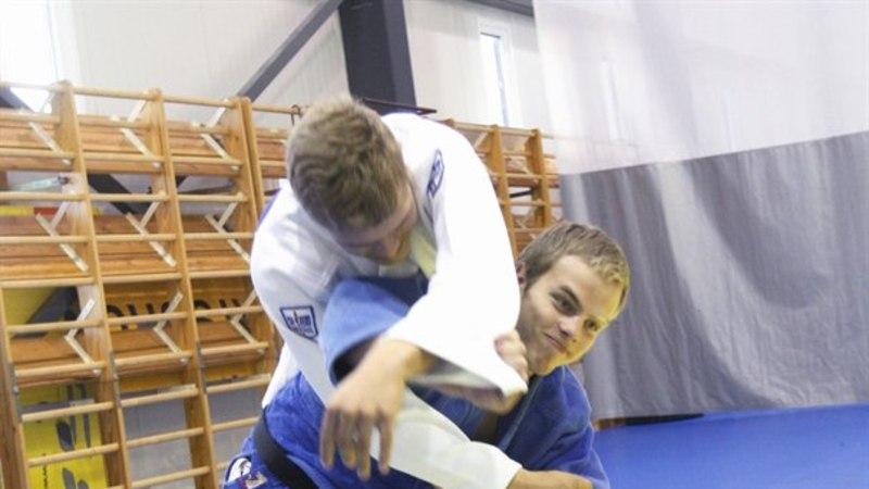 Noorjudoka Mattias Kuusik tuli Euroopa karikaetapil medalile