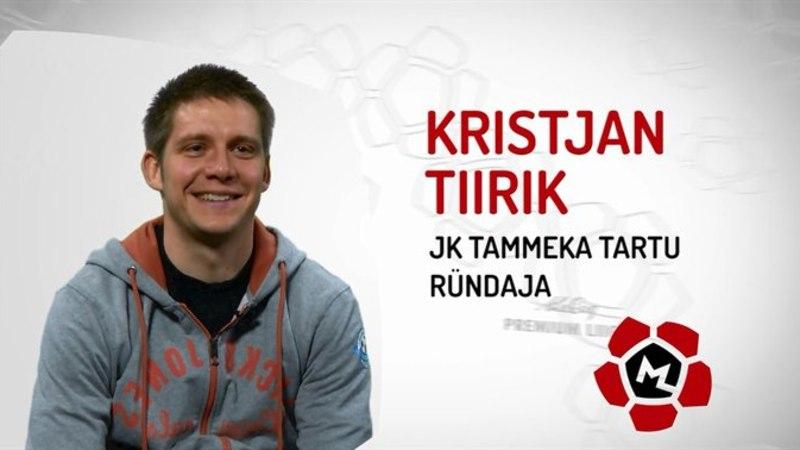 Tartu Tammeka poolkaitsja Kristjan Tiirik räägib luulest ja jääteest