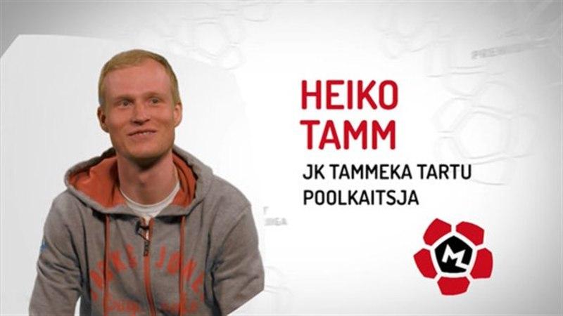 Tammeka poolkaitsja Heiko Tamm: kui koolis kahed tulid, siis korralikult ja mitu korraga!