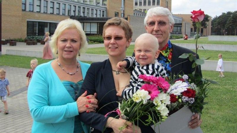 Anne Veski tütar sai magistrikraadi