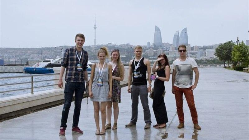Eesti bänd Bakuus tudengite Eurovisionil: meid nuumati hästi!