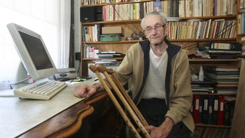 Suri Eesti invaliikumise <em>grand old man</em> Mihkel Aitsam
