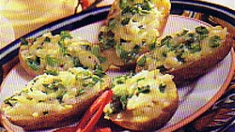 Üleküpsetatud kartulid mozzarella´ga