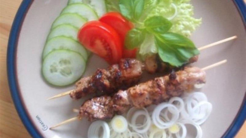 Grillitud liha