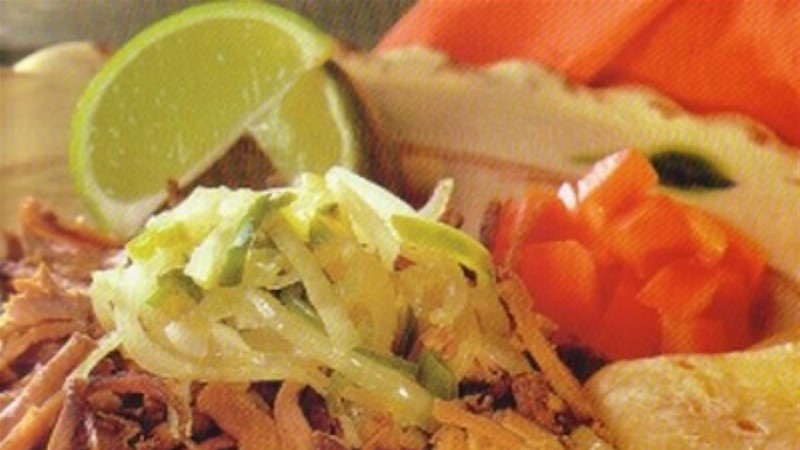 Ropa vieja ehk keedetud liha Mehhiko moodi