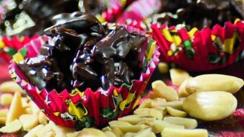 Mandlid šokolaadis