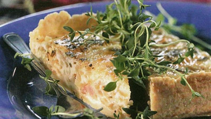Alsace'i sibula-peekonipirukas