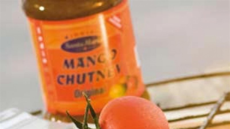 Grillitud lõhe mango-chutney'ga