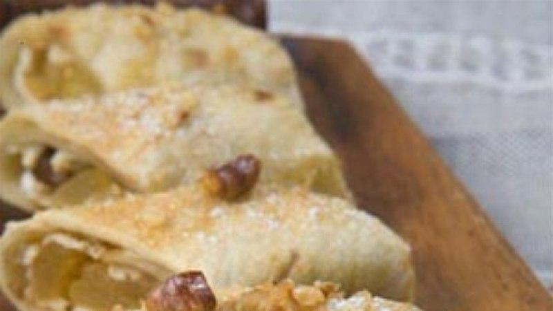 Magus tortilja karamellitud pirniga