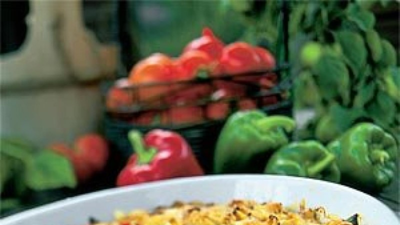 Paprika-makaronivorm
