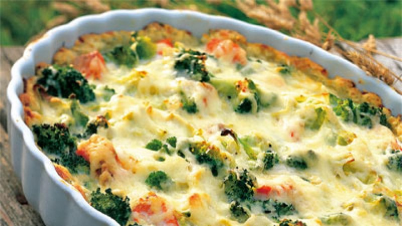 Lõhe-brokolipirukas