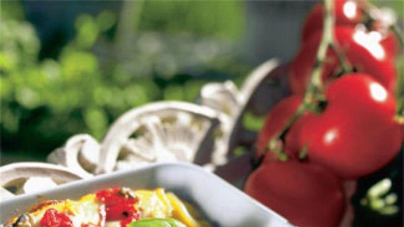 Lasanje tomati ja baklažaaniga