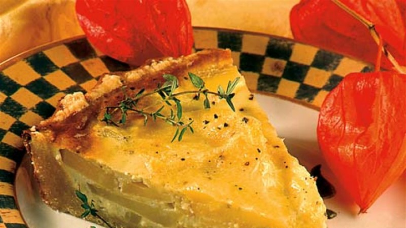 Juustu-kartulipirukas