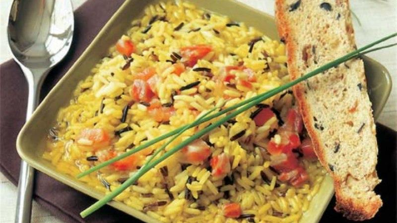 Metsiku riisi supp kalaga