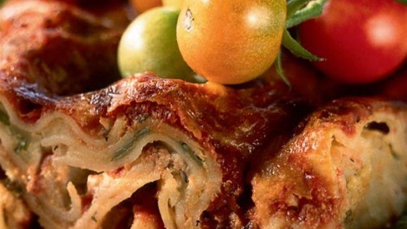 Sõbranna tomati-kodujuustulasanje
