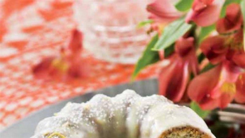 Vilma mooni-sidrunikeeks valge šokolaadi glasuuris