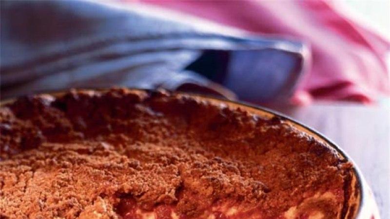 Mascarpone-kook vaarikatega