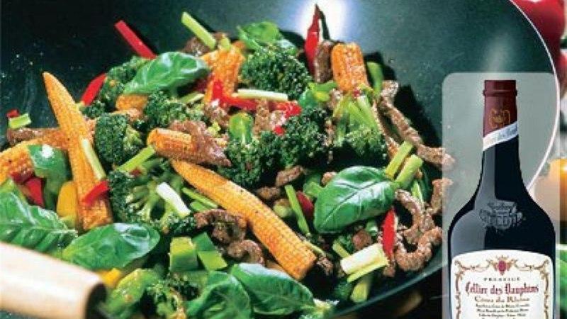 Köögivilja-loomalihawok