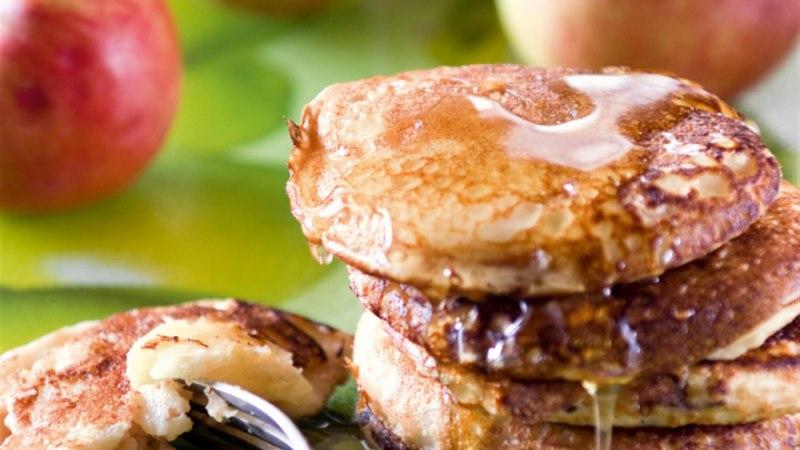 Õunapannkoogid kliidega