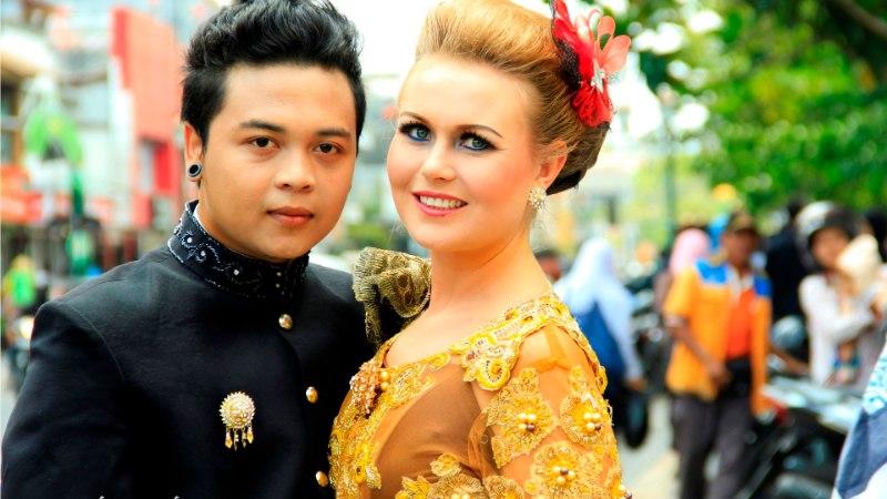 Indoneesias on kõik lihtsam - isegi mehele minek