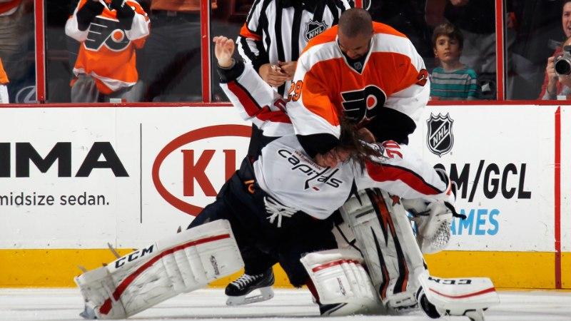 VIDEO: NHL-is läksid läinud ööl kaklema väravavahid