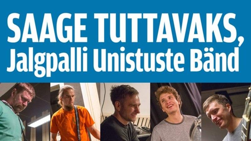 Jalgpallibänd 2014 – üks proov ja siis kohe Estonia lavale esinema!