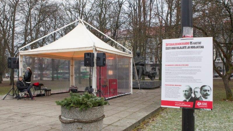 Sotsist linnavolinik: loodan, et erakond asendab kampaanias Tammsaare elavate kirjameestega