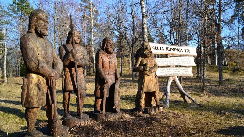 Avasta Eestimaad: nelja Eestimaa kuninga jälgedes