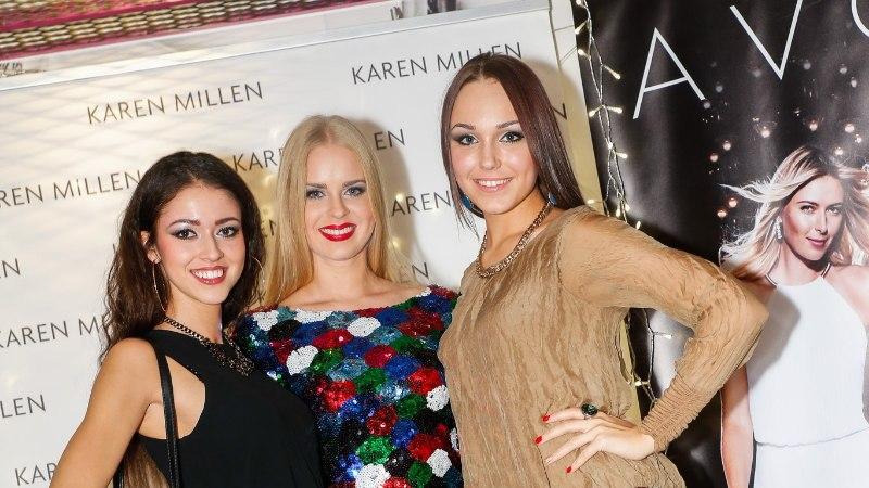 GALERII: Maia Vahtramäe, Grete Paia ja Elisa Kolk Inglise moebrändi Karen Milleni moešõul