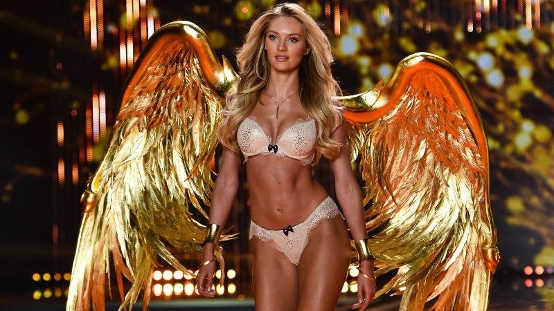 Loe, mitu liitrit kunstpäevitust kulus Victoria's Secreti inglitele jume andmiseks!