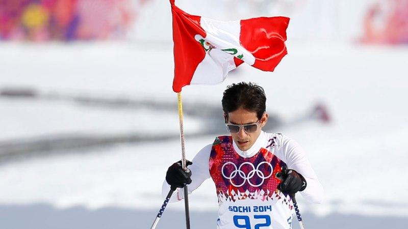 Ott Järvela | Ülevaima olümpiaelamuse eest hoolitses Peruu suusamees
