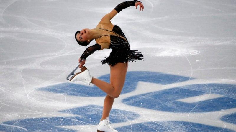 GALERII: Jelena Glebova lühikava jäi isiklikust rekordist kaugele