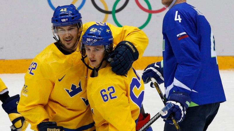 Rootsi purustas Sloveenia ja on esimesena poolfinaalis