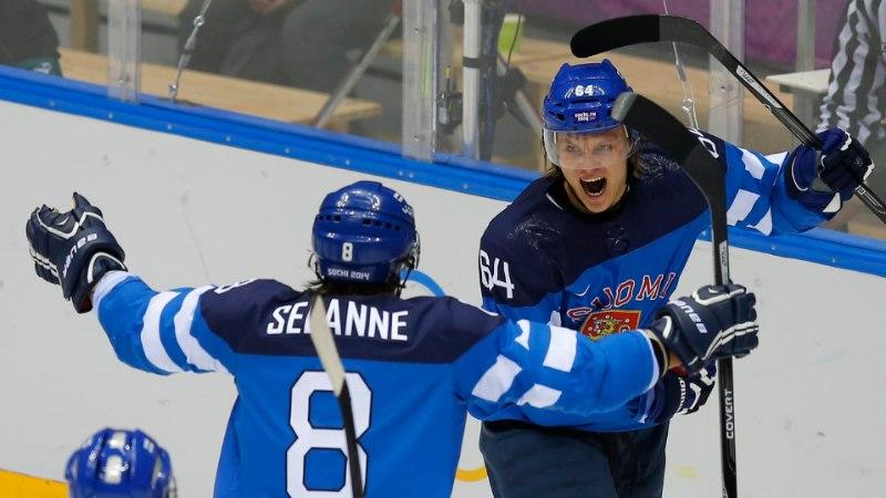 Soome kukutas Venemaa hokiturniirilt välja ja marssis poolfinaali!
