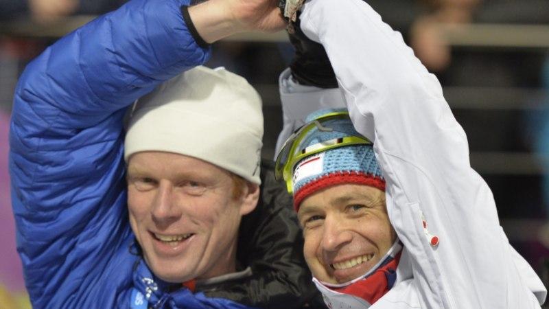Ole Einar Bjørndalen utsitab Bjørn Dæhliet comebacki tegema