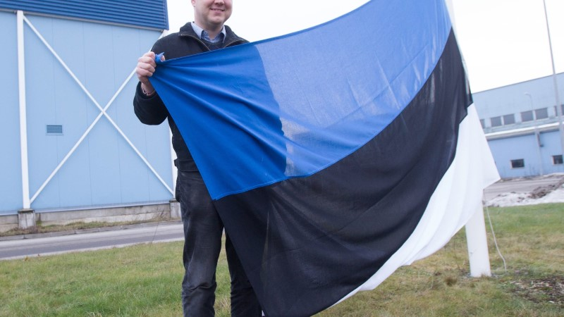 Punalipu langetamine oli hea tunne, aga rahvuslipu heiskamine veel parem!