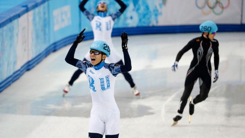 FOTOD: Venemaad esindav korealane võitis poole tunni jooksul kaks kuldmedalit