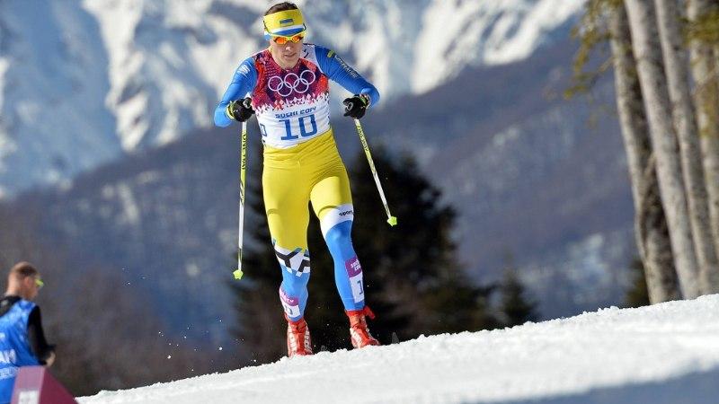 Sotši olümpia kolmas dopingupatune on Ukraina suusataja