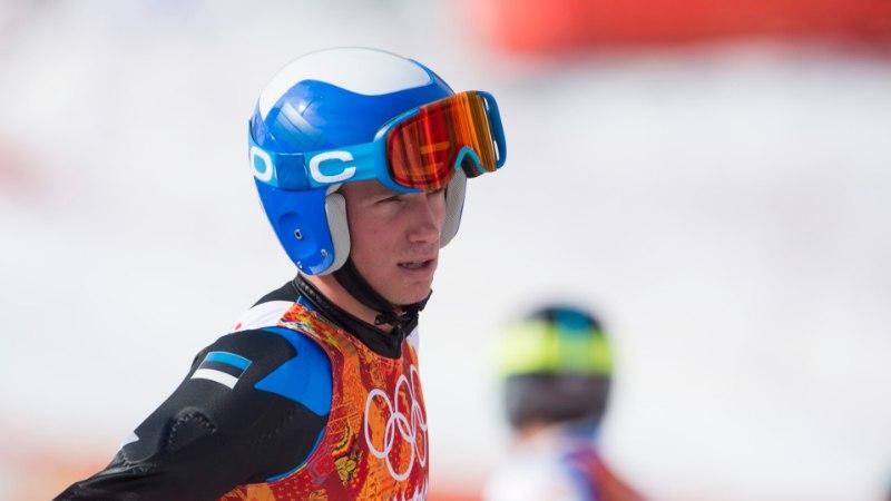 SELLINE MEES! Mäesuusataja Warren Cummings Smith sõitis välja meie olümpia paremuselt teise koha