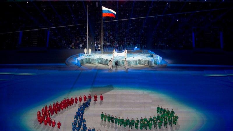 GALERII: Putin kuulutas Sotši paraolümpiamängud avatuks