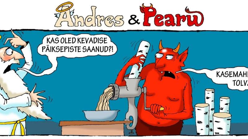 Andres ja Pearu: sellise ilmaga on aeg tembutada (ohutult)!