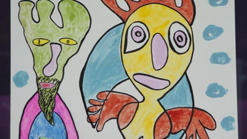 """""""Raimond joonistab seda, mida vaimusilmas näeb."""""""